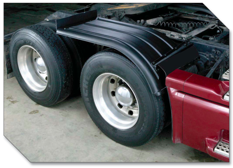 White Tractor Fenders : Minimizer fenders min quot the half horse rhodes works