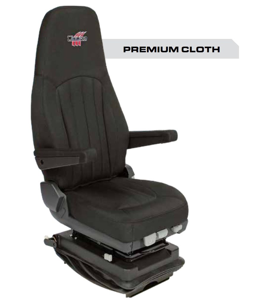 Minimizer Truck Seat - Premium Cloth Base