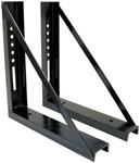 "Mounting Bracket for 18""x 18"" Steel/Stainless Toolbox"
