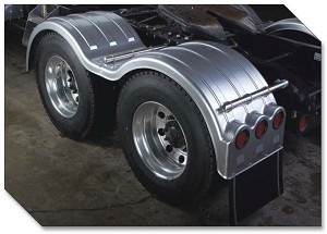 "Minimizer Fenders MIN1354 ""The Double Deuce"" Tandem 54"" Spread"